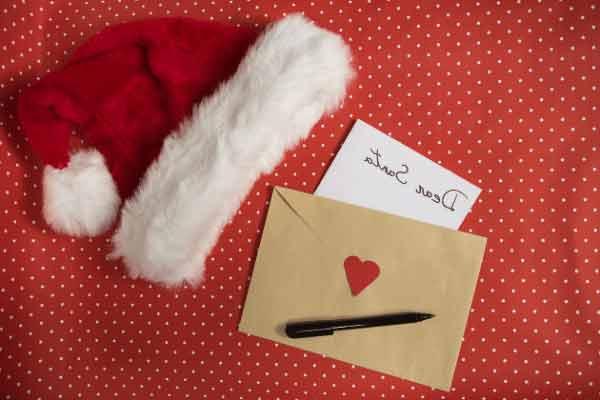 Escribir cartas de Papá Noel con tu hijo