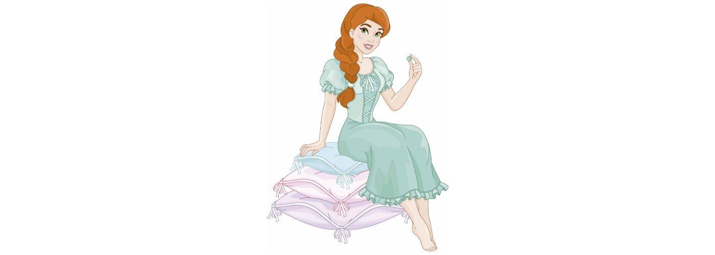 la princesa y el guisante cartas personalizadas