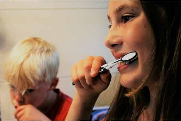 calendario de cepillado de los dientes