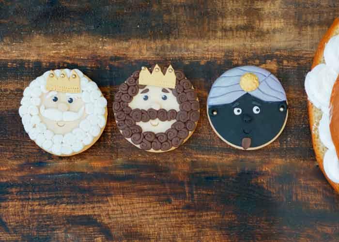 Galletas de los tres Reyes Magos