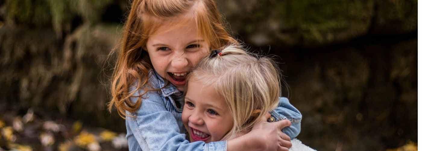 la felicidad de los niños