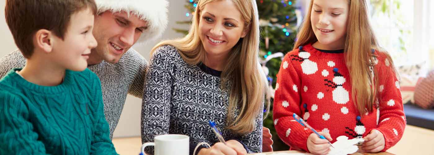escribir carta de Navidad